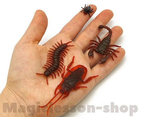 Искусственные насекомые для фокусов