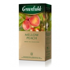 Зеленый чай «Greenfield» Mellow Peach 25 п