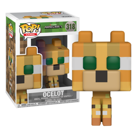 Фигурка Funko Pop! Games: Minecraft - Ocelot