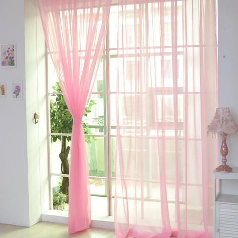 Тюль вуаль на шторной ленте. Розовая. оптом. Арт. Kv05