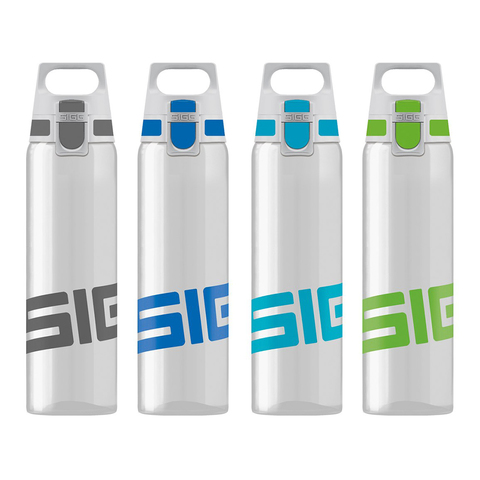 Бутылка Sigg Total Clear One (0,5 литра), бело-зеленая