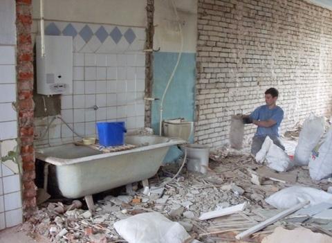 Демонтажные и земляные работы