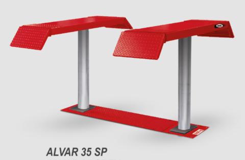 Подъёмник плунжерный для автосервиса BUTLER ALVAR 35 SP. Производство Италия.