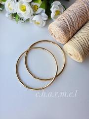 Ручки для сумок металл золото 14 см, 2 шт