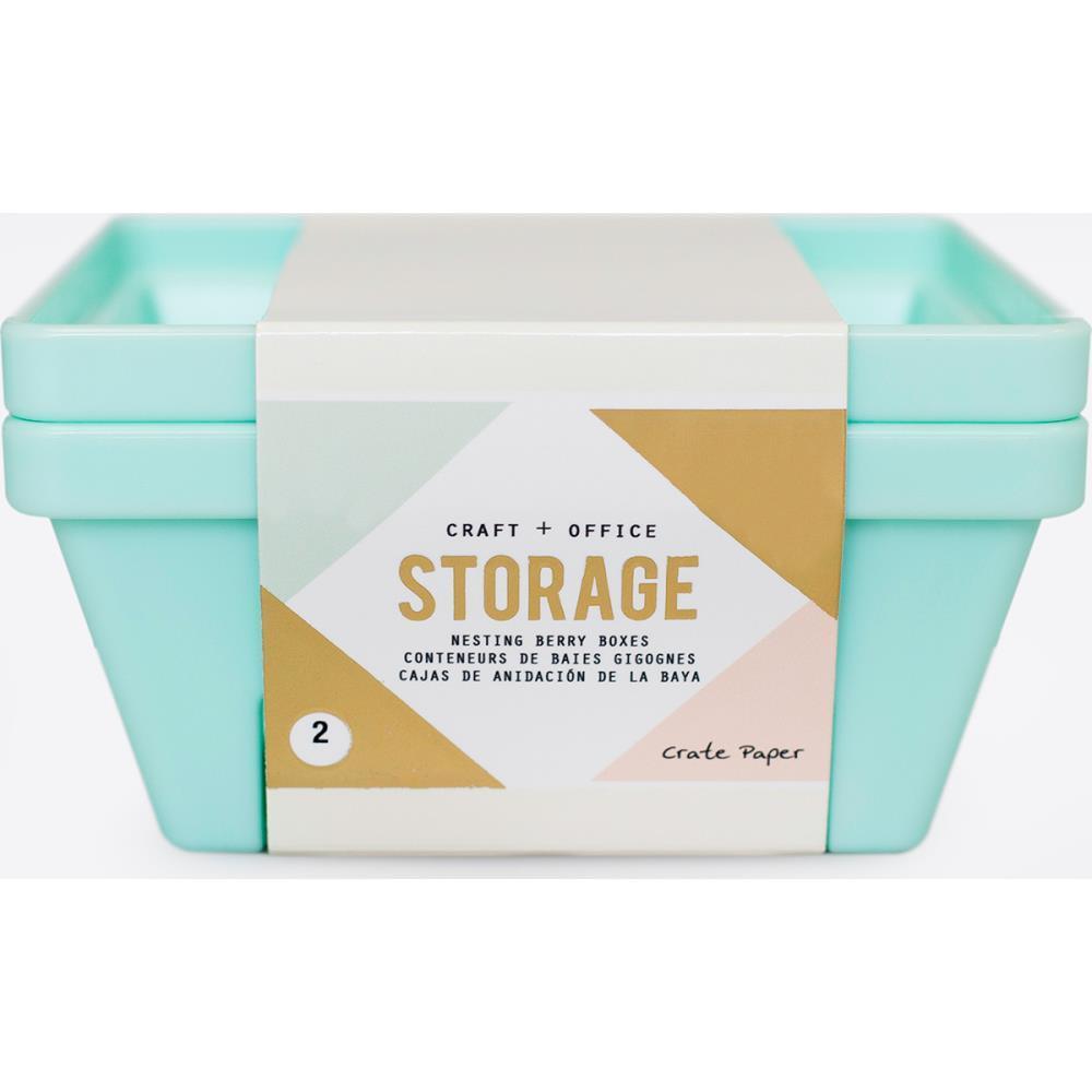 Органайзер -Desktop Storage Nesting Berry Containers 2/шт