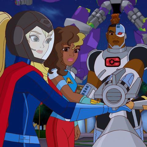 LEGO DC Super Hero Girls: Тёмный дворец Эклипсо 41239 — Eclipso Dark Palace — Лего Девушки-супергерои