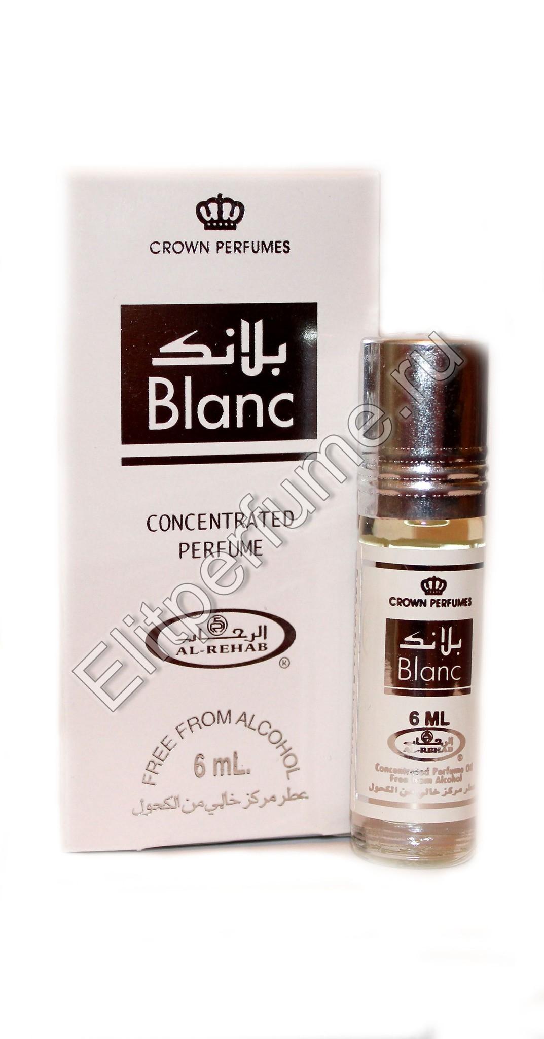 Blanc Бланк 6 мл арабские масляные духи от Аль Рехаб Al Rehab