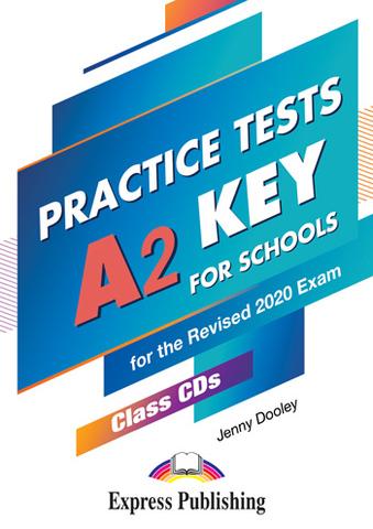A2 Key for Schools Practice Tests - Class CDs (set of 5) - комплект дисков с аудированием