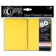 UP Sleeves PRO-Matte Eclipse Yellow