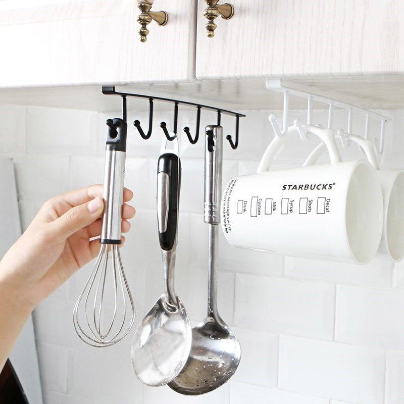 вешалка для кухни металлические фото большое