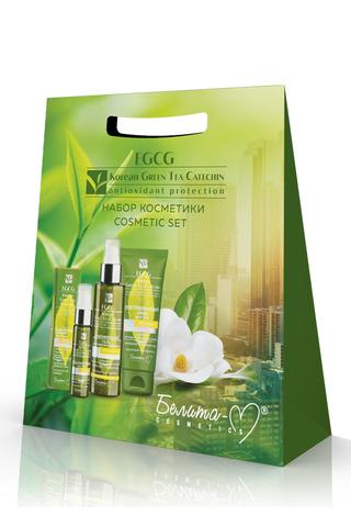Белита-М EGCG Korean Green Tea Catechin Подарочный набор (гель, сыворотка, крем д/рук)