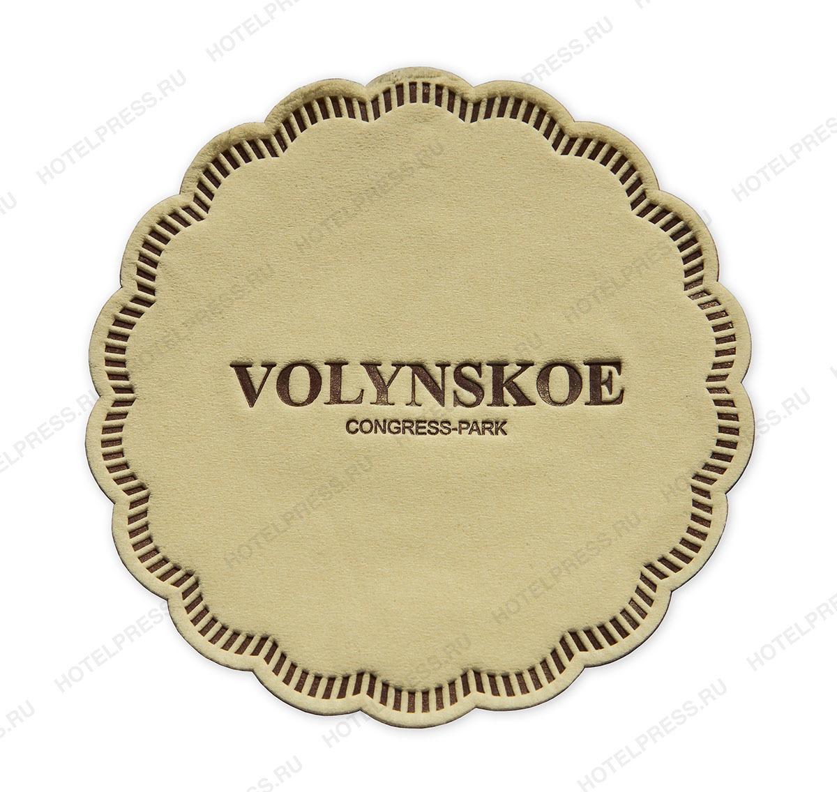 Подстаканник с логотипом Волынское (VOLYNSKOE)