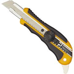 Нож универсальный Attache Selection с прорезиненными вставками (ширина лезвия 18 мм)