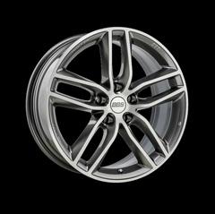 Диск колесный BBS SX 8x18 5x114.3 ET40 CB82.0 platinum silver/diamond cut