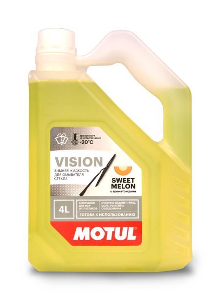 """Motul Vision (-20С) Незамерзающая жидкость """"Сладкая дыня"""""""