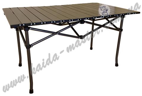 Стол туристический складной алюминиевый 93*55*50 см