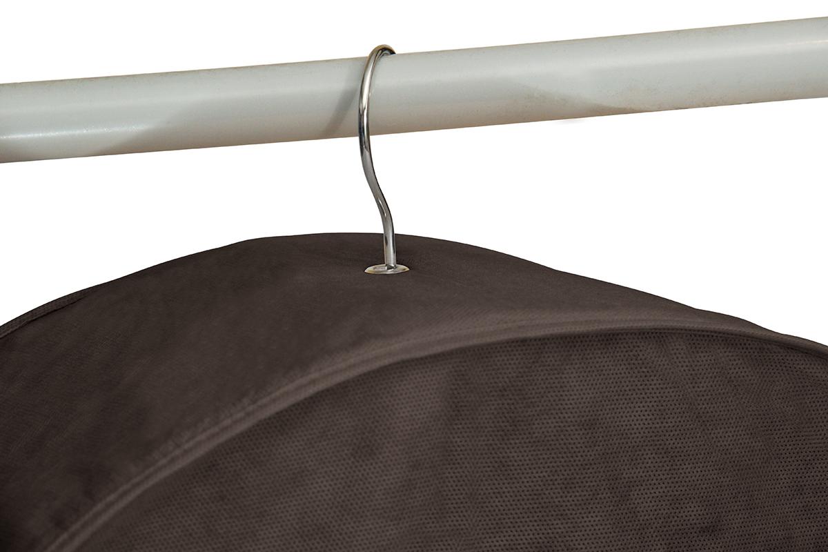 Чехол для шуб LUX короткий 100х60х18 см, Прага