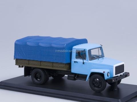 GAZ-33073 engine ZMZ-513 Cargo Taxi Start Scale Models (SSM) 1:43