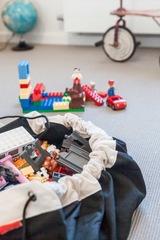 Коврик-мешок для игрушек (2 в 1) Play&Go Classic ЧЕРНЫЙ 40006 4