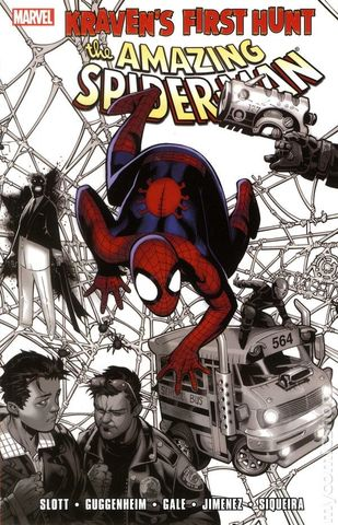 The Amazing Spider-Man Kraven's First Hunt TPB