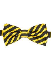 Бабочка для мальчиков цвет черный с желтым