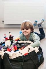 Коврик-мешок для игрушек (2 в 1) Play&Go Classic ЧЕРНЫЙ 40006 1