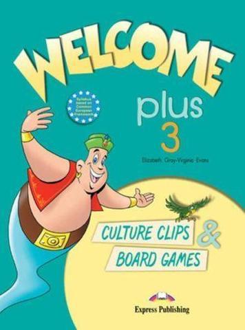 Welcome Plus 3. Culture Clips & Board Games. Beginner. Настольные игры