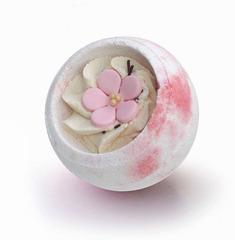 Десерт-шарик для ванн комбинированный САКУРА, серия