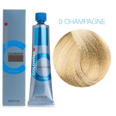 Goldwell Colorance 9 CHAMPAGNE (шампань блонд) - тонирующая крем-краска