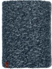 Шарф-труба вязаный с флисовой подкладкой Buff Neckwarmer Knitted Polar Agna Black