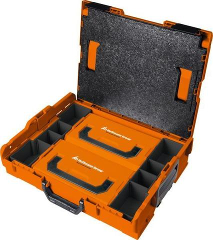 Пластмассовый системный кейс L-BOXX® с 2 контейнерами и вставками 102