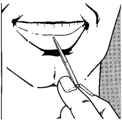 Зубочистка Victorinox (A.3641) 50мм большая для ножей 84-111мм и мультитулов
