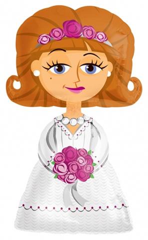 Ходячий шар Невеста