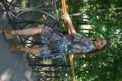 Платье Margo 1016 волан платки к/р
