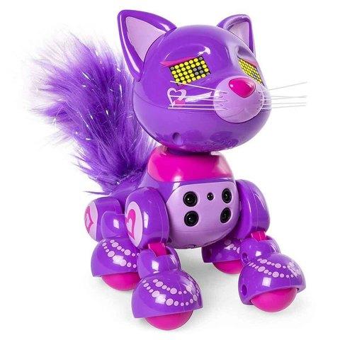 Интерактивный котенок Сиреневый Пош