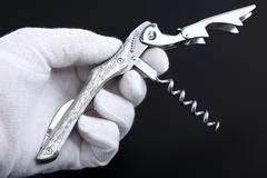 Нож сомелье Farfalli T010 DM Damascus, фото 2