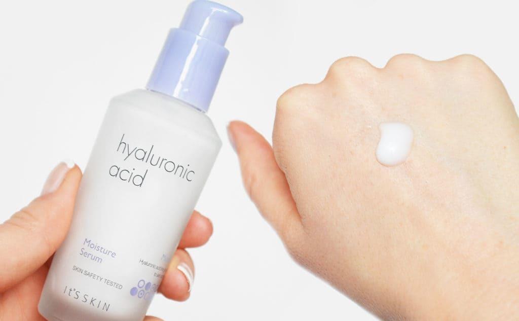 It's Skin Hyaluronic Acid Moisture Serum — Увлажняющая сыворотка для лица с гиалуроновой кислотой, питает и смягчает эпидермис, нормализует гидробаланс