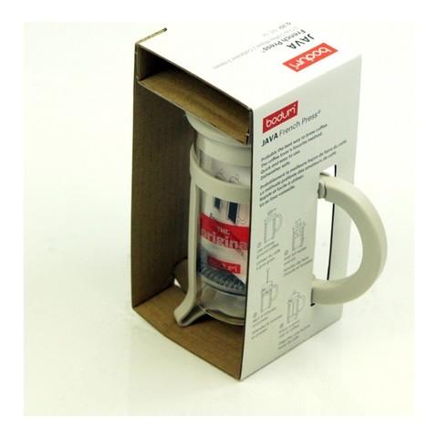 Френч-пресс Bodum Java (0,35 литра), белый