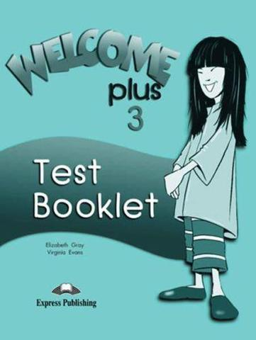 welcome plus 3 test booklet