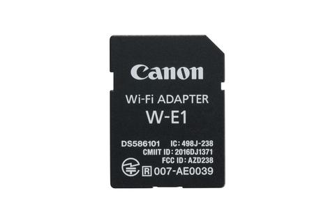 Wi-Fi-адаптер Canon W-E1 формата SD-карты для камер EOS с двойным разъемом для карт памяти