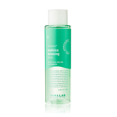 Тонер SKIN&LAB Dr. Troubless Medicica Balancing Toner 180ml