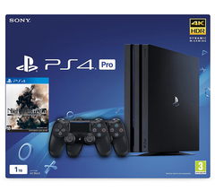 Sony PlayStation 4 Pro Black 1Tб + второй DualShock 4