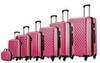 Чемодан с расширением L'case Phatthaya-24 Розовый (M+)
