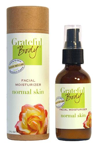 Увлажняющий крем для нормальной кожи, Grateful Body