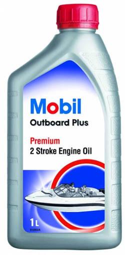 Mobil Outboard Plus Масло для подвесных двухтактных двигателей с водяным охлаждением