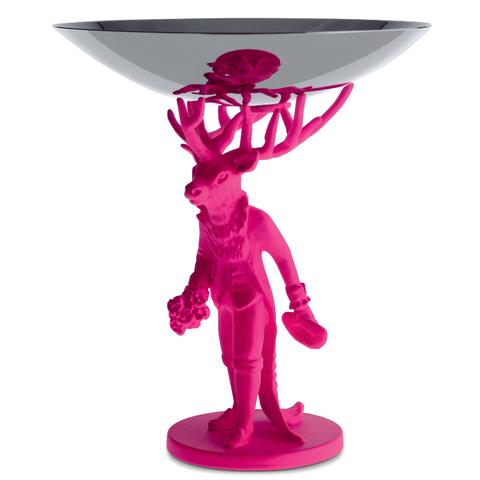 Блюдо декоративное Furbo розовое