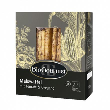 Хлебцы кукурузные с томатом и орегано BioGourmet, 100 г