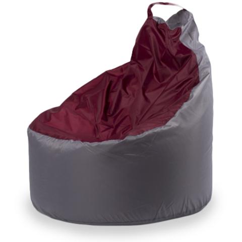 Кресло-мешок «Комфорт» Серо-бордовый