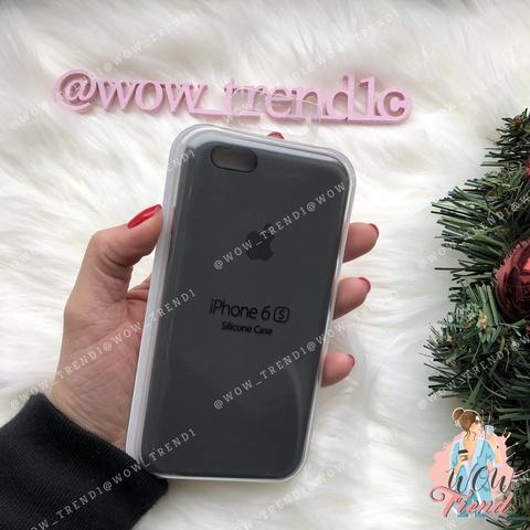 Чехол iPhone 6/6s Silicone Case /dark olive/ темная оливка 1:1