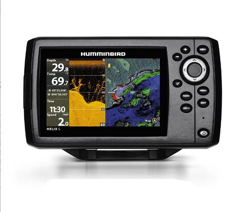 Эхолот-картплоттер Humminbird Helix 5x CHIRP DI GPS G2
